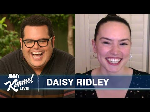 Guest Host Josh Gad Interviews Daisy Ridley