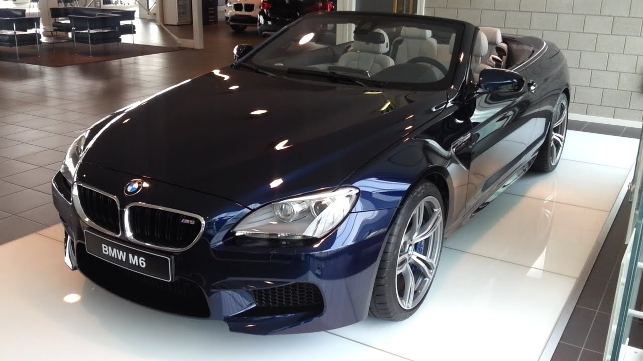 bmw m6 cabriolet 2014 in depth review interior exterior youtube. Black Bedroom Furniture Sets. Home Design Ideas