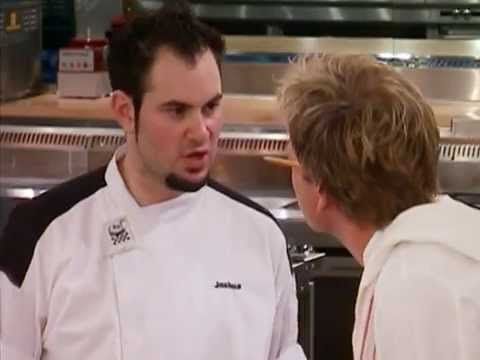 Hell's Kitchen - Josh Gets Ejected From Hell's Kitchen (Uncensored)