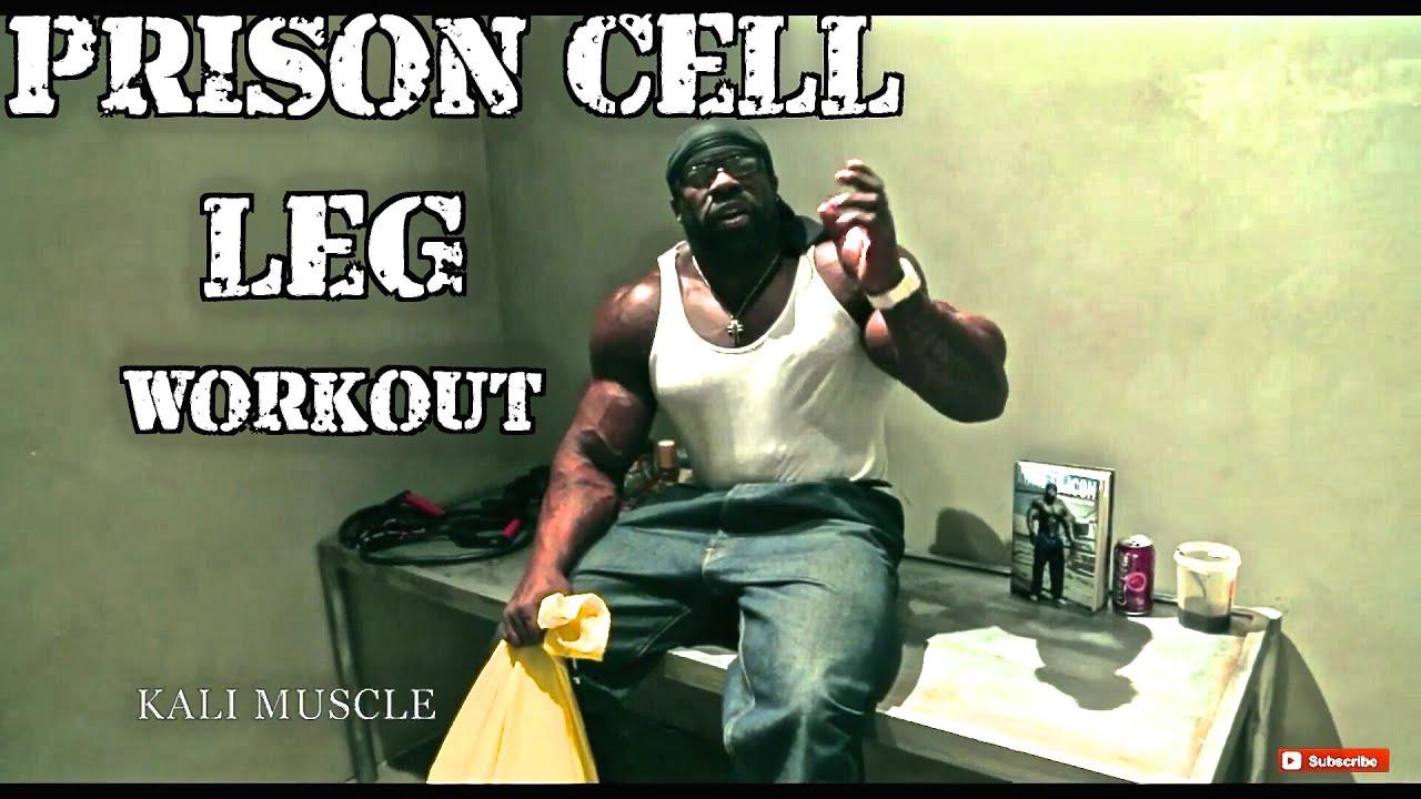 Kali muscle prison cell leg workout doovi