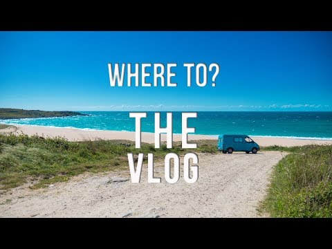 Where To? The Vlog - Travel and Surf Tips #3 Cantabria Part1 , surfing, atlantic, waves and more
