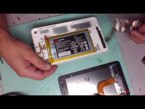 Разборка и ремонт HUAWEI MediaPad T1-701U