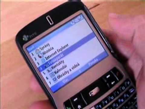 HTC S620 ovladanie