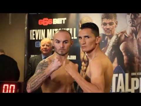KEVIN MITCHELL v DANIEL ESTRADA - OFFICIAL WEIGH IN VIDEO / CAPITAL PUNISHMENT