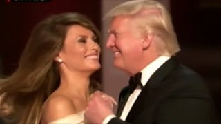 President Trump And First Lady Melania Enjoy First Dance Of The Night At The Liberty Ball