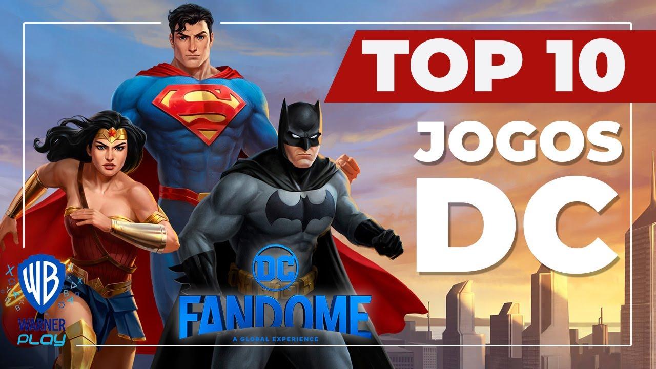 TOP 10 - Melhores jogos da DC de todos os tempos!