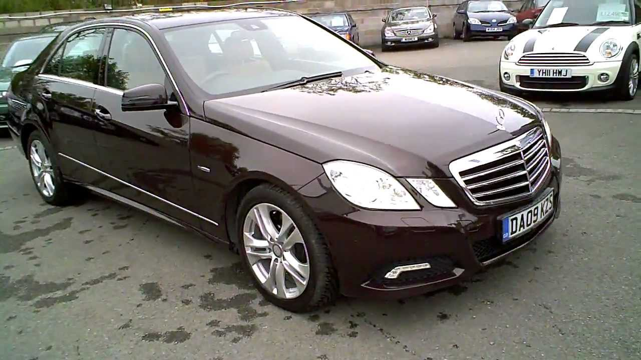 2009 mercedes e350 cdi avantgarde diesel saloon automatic youtube. Black Bedroom Furniture Sets. Home Design Ideas