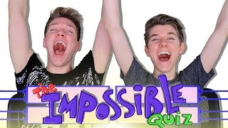 The IMPOSSIBLE QUIZ Challenge (Fail) Sibling Tag | Collins Key vs Devan Key