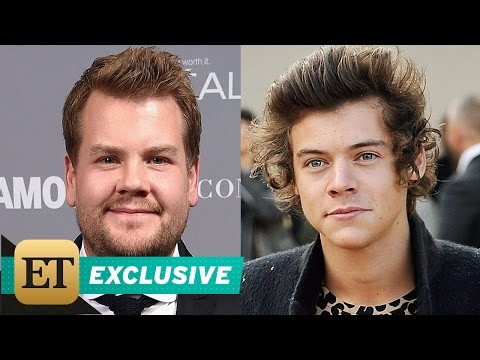 EXCLUSIVE: James Corden on Why He's 'Incredibly Proud' of Harry Styles & Doesn't Give Him Love Ad…