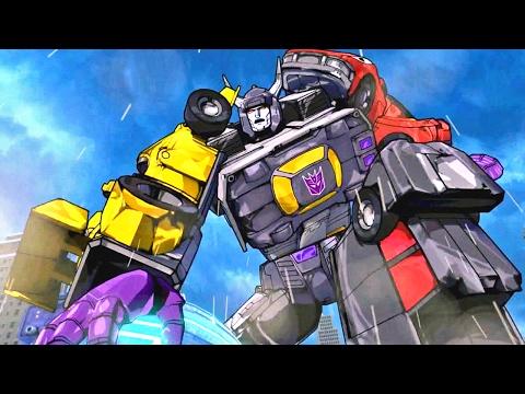 Transformers Devastation #07: Go Go Power Rangers - PS4 / Xbox One gameplay