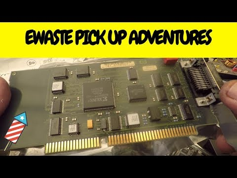 eWaste Pick Up Adventures - Test Equipment
