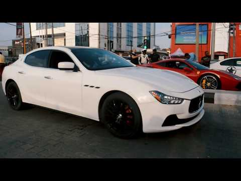 Lagos street shut down by car lovers and bikers  | Bimmerfes