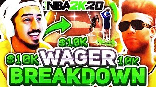 BREAKING DOWN TYCENO'S $10,000 WAGER THAT CAME DOWN TO ONE SHOT ON NBA2K20..