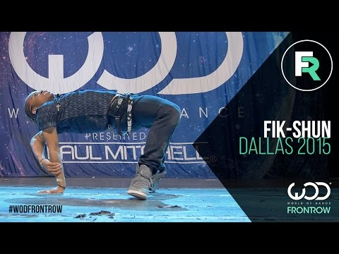 Fik-Shun | FRONTROW | World of Dance Dallas 2015...