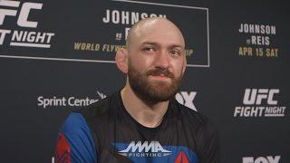 UFC on FOX 24: Zak Cummings Feels Lack of Respect, Hopes UFC Starts Pushing Him