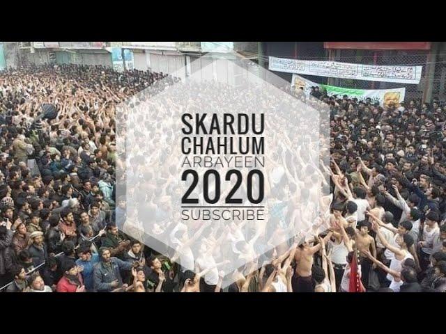 skardu chahlum 2020 ll Markazi Dasta Haderia Khardrong
