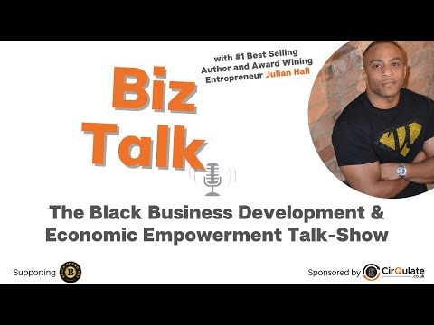 Biz Talk - with #1 Best Selling author and founder of Ultra Education, Julian Hall