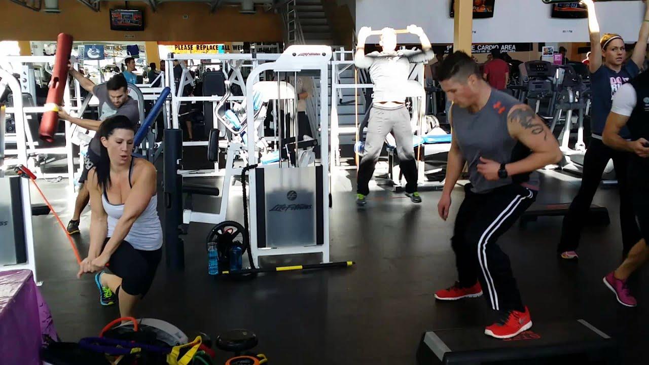 Steve Nash Fitness World Langley Team Workout Youtube