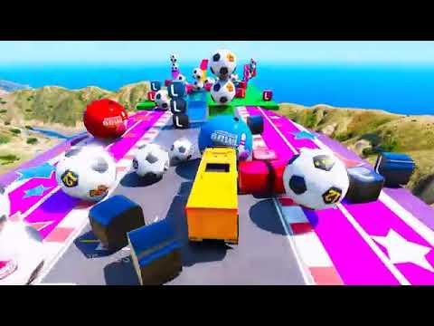 Kartun Mobil Anak Belajar Mengenal Warna Seru 10