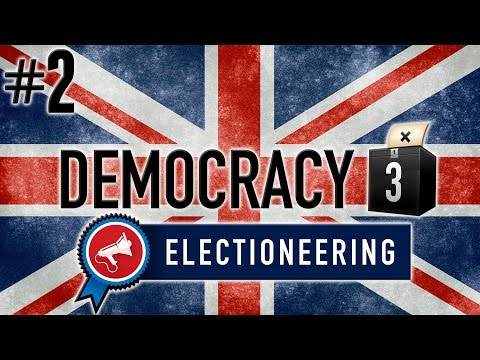 Democracy 3: Electioneering Gameplay PC - Brexit Britain - PART #2 - Whoops....