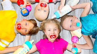 Five Kids If I were a Baby Song Nursery Rhymes