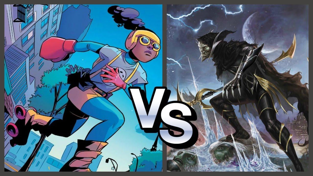 Corvus Glaive Vs Wolverine