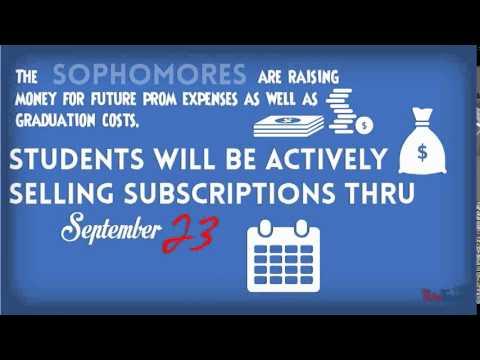 Sophomore Magazine Sales-Online Shopping