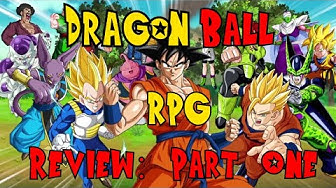 Dragon Ball RPG Review: Part 1, Introduction and Character Creation Chapters!