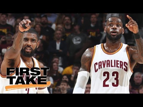 Should LeBron James care about talk surrounding him and Kyrie Irving? | First Take | ESPN