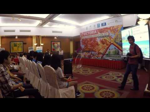 Victoria, Canada Education Fair - Hanoi 2016