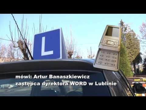 Zmiany w przeprowadzaniu egzaminu na prawo jazdy w 2013 r  tv Kanał S Lubartów