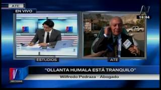 Abogado Wilfredo Pedraza visitó a expdte  Ollanta Humala Canal N 01 08 17