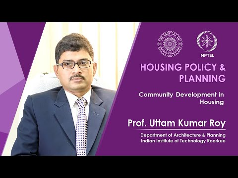 Lecture 27- Community Development and Housing