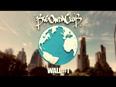 BigOndaClub - Wall #1 - Mamma Europa - @ArtFactory San Telmo, Buenos Aires