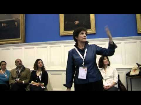Thais Corral at the CDKN Action Lab in Oxford 2011