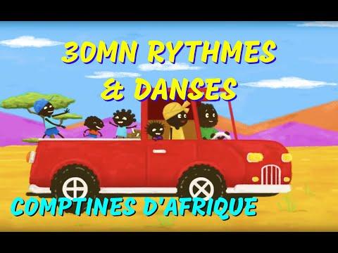 30 mn Comptines d'Afrique  (rondes et chansons à gestes)