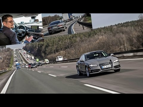 Audi A7 Sportback piloted driving concept — комментарий к тесту