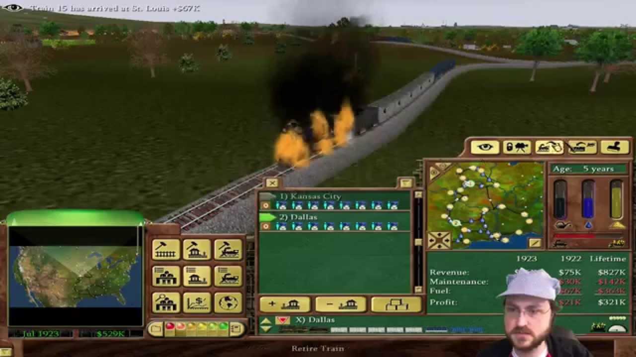 Railroad Tycoon 3 Video Game - PageBD Com