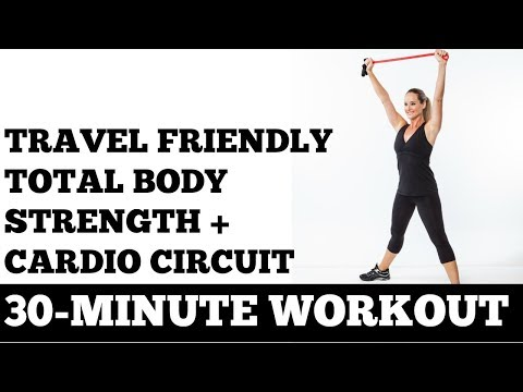 30-Minute Travel Friendly Cardio + Strength Circuit Workout