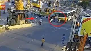 Accident caught on traffic CC camera || Road accidents caught on cc camera || rash driving