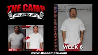Modesto Weight Loss Fitness 6 Week Challenge Results - Joseph Rodriguez