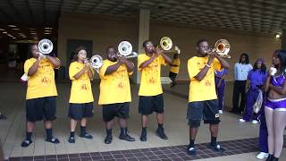 Trombone Section Battle Bowie State University vs Benedict College