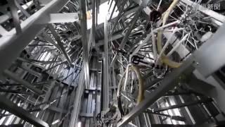 Самая крутая велопарковка в мире