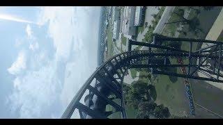 Mega Coaster Hyperion 142km/h – Energylandia Zator - FullHD