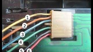 Ремонт контактов задних фонарей,Не горят (Мигают) задние стопы на ВАЗ 2115,2114,2113,2199,2109,2108
