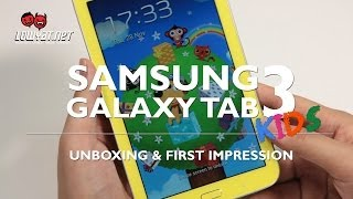 Samsung Galaxy Tab 3 Kids - Unboxing & First Impressions