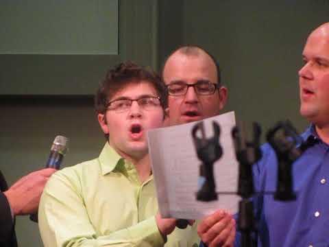 grand final at ontario acapella gospel sing in walisteen ontario at walisteen bible chapel