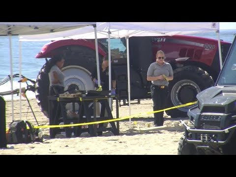 Body discovered at Maryland beach