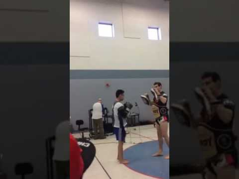 Muay Thai demonstration at Guadalupe Alternative Programs (clipped)