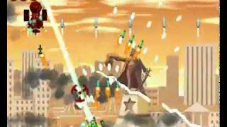 Heavy Weapon Deluxe Atomic Tank Stage 18 Gameplay
